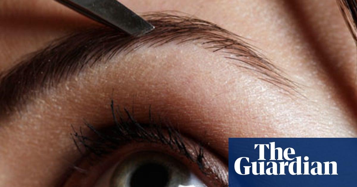 Beauty: Brow shaping   Fashion   The Guardian