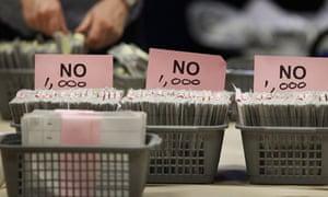 No votes in AV referendum