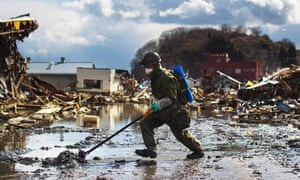 Japan disaster army
