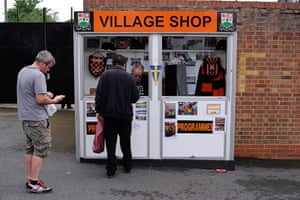 Barnet v Port Vale: Village shop outside Underhill