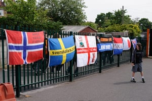 Barnet v Port Vale: Barnet fans are an international bunch