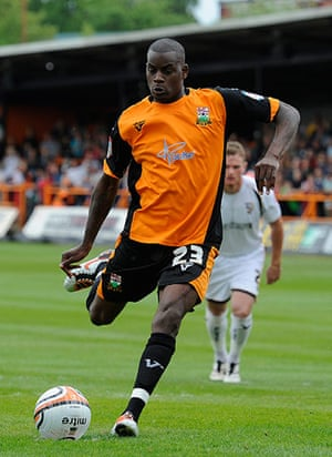 Barnet v Port Vale: Izale McLeod takes the penalty