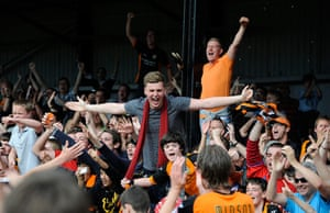 Barnet v Port Vale: Euphoria as Barnet do their lap of honour