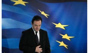 Greece's finance minister, George Papaconstantinou