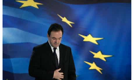 Greece's finance minister, George Papaconstantinou