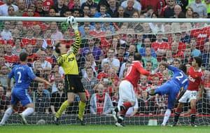 football: Man Utd v Chelsea