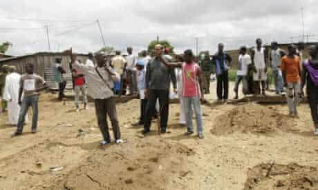 Ivory Coast mass grave