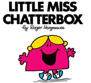 Mr Men Books: Little Miss Chatterbox book cover