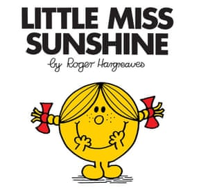 Mr Men Books: Little Miss Sunshine book cover