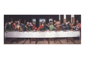 leonardo da vinci : The Last Supper by Giampietrino