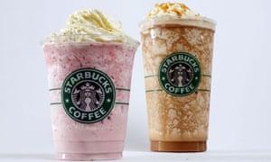 """Starbucks Frappuccino drinks"""