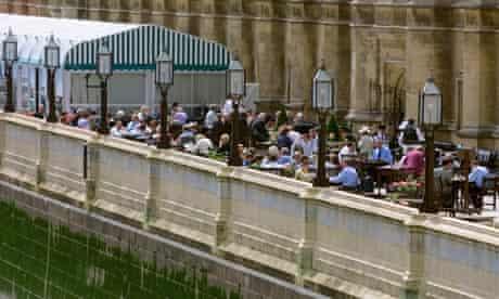 The terrace of the House of Commons.