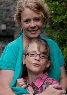 Robyn Mowat with her daughter Michaela