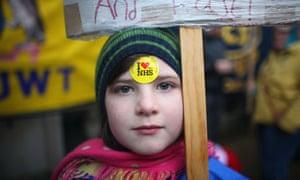 Public sector cuts protest