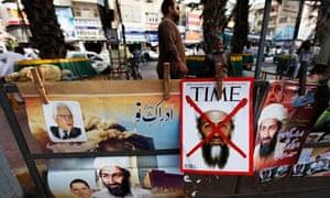A newspaper stand in Karachi, Pakistan