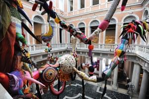 Venice biennale: Contamination  by Joana Vasconcelos