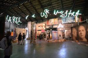 Venice biennale: Art is Cosa Nostra, curated by art critic Vittorio Sgarbi