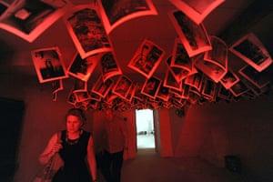 Venice biennale: Part of Mike Nelson's installationat the British Pavilion