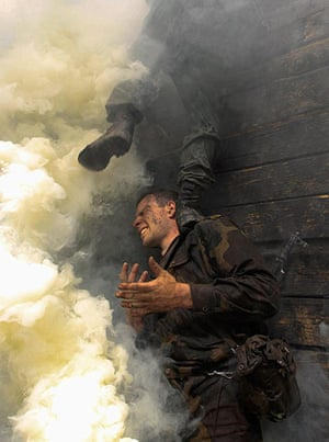 24 hours in pictures: Servicemen belonging to a special Interior Ministry, Belarus