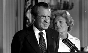 1974 Watergate Scandal Forces President Nixon To Resign