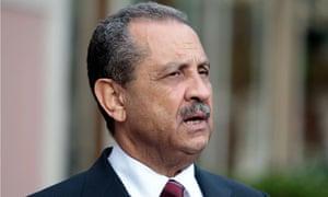 Libya's oil minister Shukri Ghanem