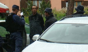 One of two men arrested in conjunction with a Bilderberg bomb scare