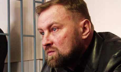 Russian colonel Yuri Budanov show Moscow