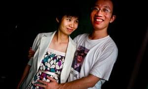 Zeng Jinyan and Hu Jia