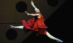 Rojo performing in Carmen, 2009.