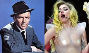 Frank Sinatra and Lady Gaga