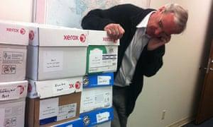 Ed Pilkington collects Sarah Palin emails