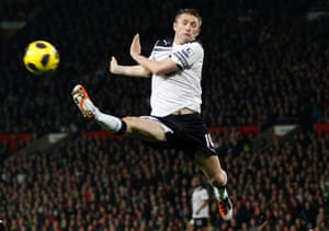 Unwanted players transfer: Tottenham Hotspur's Robbie Keane stretches for the ball