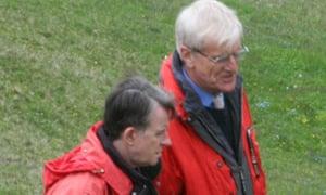 Peter Mandelson and Richard Lambert