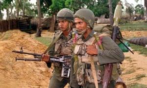 Sri Lankan army