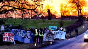 Friends of the Earth: TRANSPORT Protest 3
