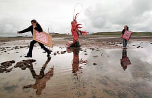 Friends of the Earth: ENVIRONMENT Sellafield protest 2