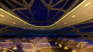 Airbus in 2050: The vitalising zone which provides a panoramic view