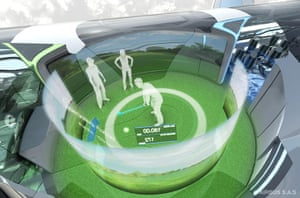 Airbus in 2050: Artists impression of the interaction zone