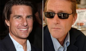 Tom Cruise and Lee Child