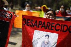 FTA: Tomas Bravo: Relatives of disappeared people march in Torreon