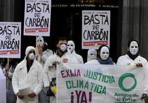 Friends of the Earth: Members of the non-governmental organiza