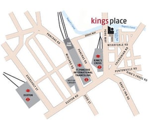 Kings Place map