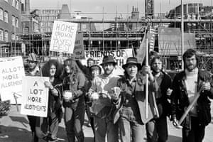 Friends of the Earth: Environmentalism - Friends of the Earth - British Allotments Protest