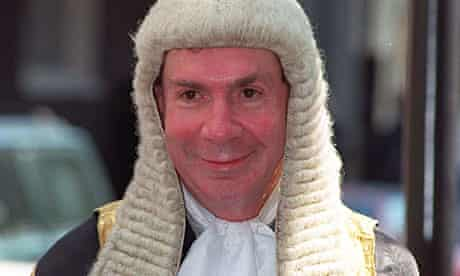 Lord Irvine of Lairg before he was sworn in as lord chancellor in 1997