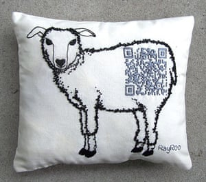 QR-3D: Do Androids Dream of Electric Embroidery? by Rachel Rose