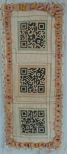 QR-3D: QR Codex 1 from Peggy Dolane – who contributes as FreeRangeMom
