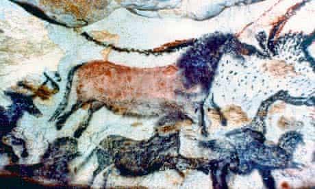 Cave paintings at Lascaux