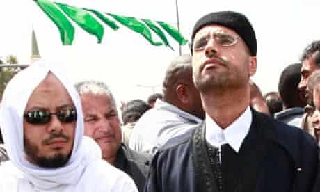Saif and Muhammad Gaddafi