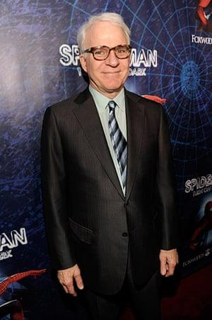 Spider-Man musical: Steve Martin