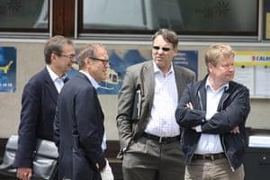 Bilderberg: The Chairman of Royal Dutch Shell, Jorma Olila
